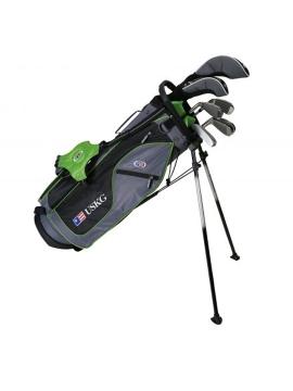 UL57 7-Club DV2 Driver Set, Grey/Green Bag