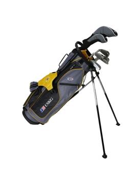 UL63 7-Club DV2 Driver Set, Grey/Gold Bag