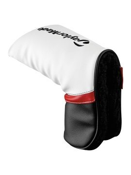 Taylormade Putter Headcover - Black/White/Red