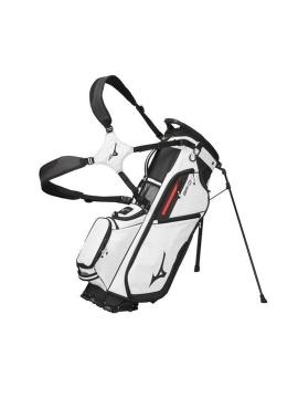 Mizuno BR-D4 Stand Bag - White/Black