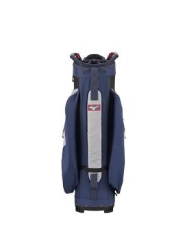 Mizuno BR-D4 Cart Bag-Heather Grey/Navy