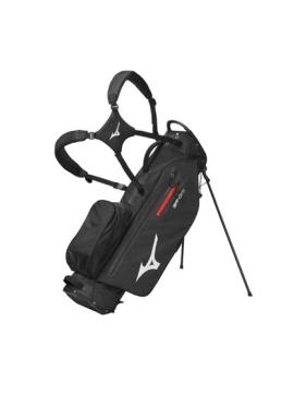 Mizuno BR-DRI Waterproof Stand Bag - Black/Silver