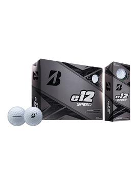 Bridgestone e12 Speed Golf Balls - 1 Dozen White