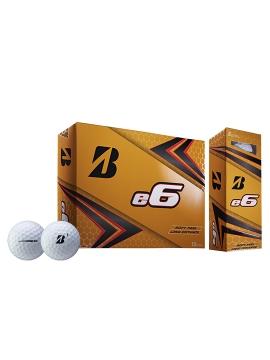 Bridgestone e6 Golf Balls - 1 Dozen White