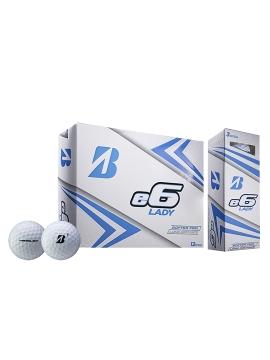 Bridgestone e6 Lady Golf Balls - 1 Dozen White
