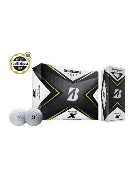 Bridgestone Tour B X Golf Balls - 2020 - 1 Dozen White