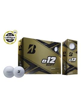 Bridgestone e12 Soft Golf Balls - 1 Dozen White