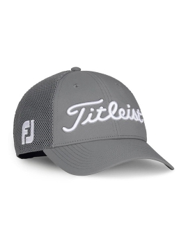 Titleist Tour Performance Mesh - Legacy Collection Cap - Charcoal/White
