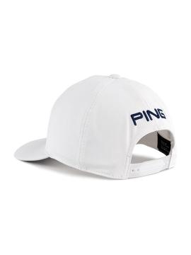Ping Debossed PYB Cap - White/Navy