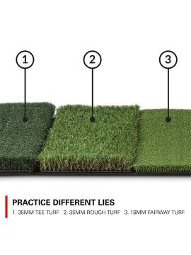 Rukket Golf Tri-Turf Mat
