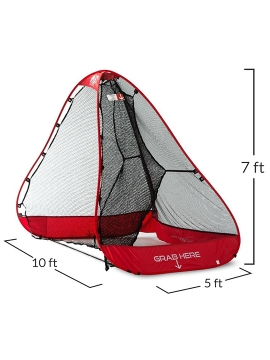 Rukket Golf Pop-Up Portable Hitting Net