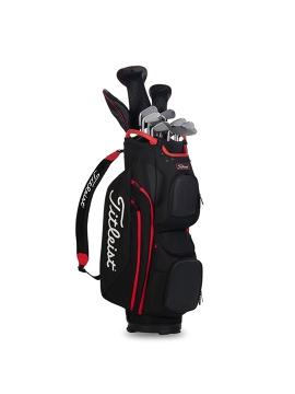 Titleist Cart 15 - Cart Bag Black / Red
