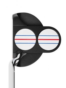ODYSSEY 2 BALL - TRIPLE TRACK OS - DOUBLE BEND - PUTTER