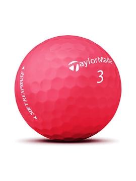 Taylormade Soft Response Golf Balls - 1 Dozen RED