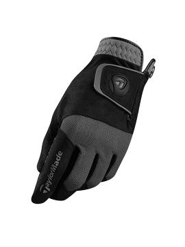 Taylormade Rain Control Pair of Gloves - Black/Grey