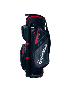 Taylormade Select LX Cart Bag - Black/Red