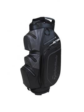 Taylormade Storm Dry Waterproof Cart Bag - Black/Charcoal
