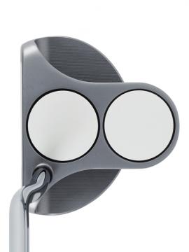 Odyssey White Hot OG 2 Ball Strokelab OS - Double Bend - Putter