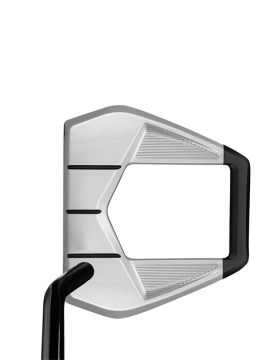 Taylormade Spider S - Single Bend - Chalk