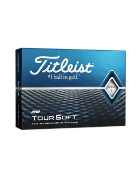 Titleist Tour Soft Golf Balls - 1 Dozen White