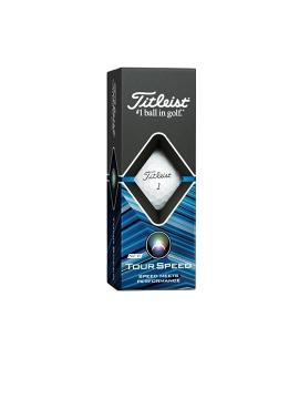 Titleist Tour Speed Golf Balls - 1 Dozen White
