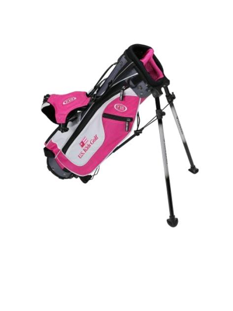 UL45 Stand Bag, Pink/White/Grey Bag