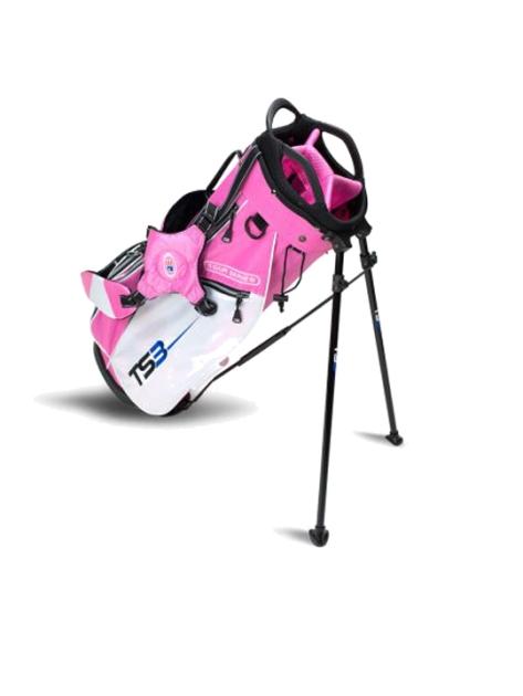 TS3-51 Stand Bag, Pink/White Bag