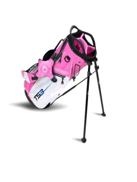 TS3-60 Stand Bag, Pink/White Bag