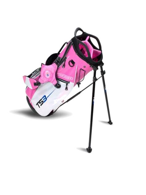 TS3-57 Stand Bag, Pink/White Bag