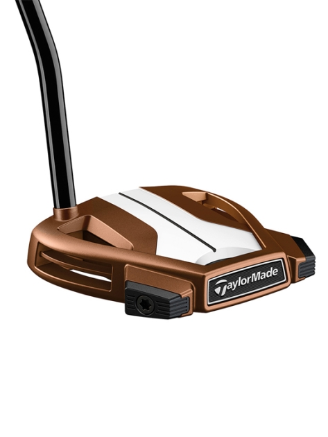 Taylormade Spider X Copper/White - Single Bend Putter