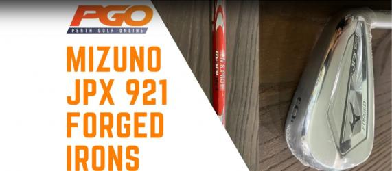 Mizuno JPX 921 Forged Irons Forged Irons