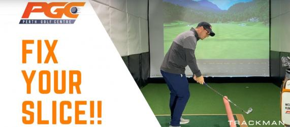 Stop the Slice - Golf Drill